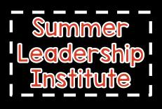 Summer Leadership Institute 2017